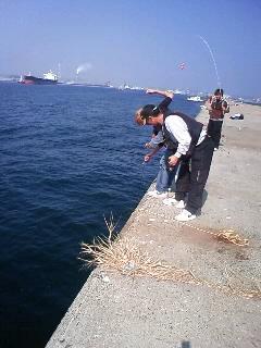 海釣りその二